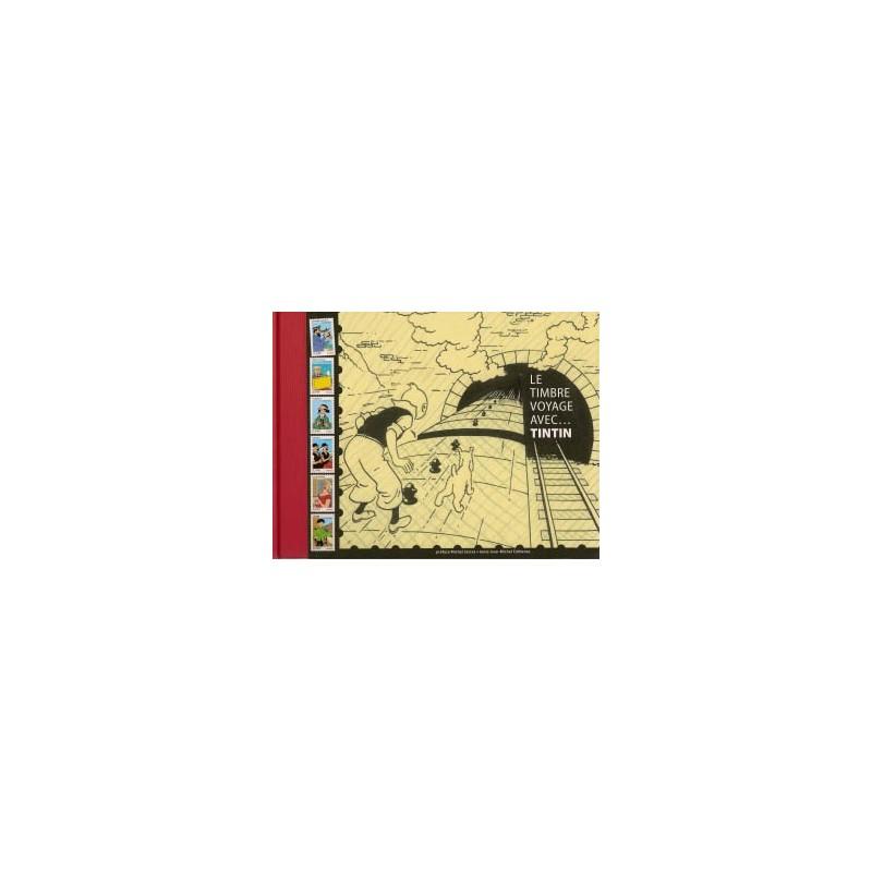 Herge (Kuifje) Le tembre voyage avec… Tintin HC