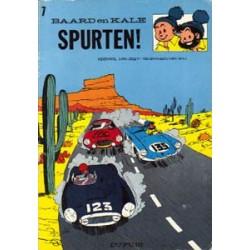 Baard en Kale 07<br>Spurten!<br>herdruk 1978