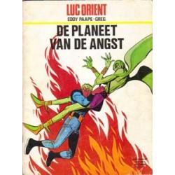 Luc Orient 04<br>De planeet van de angst<br>herdruk 1975
