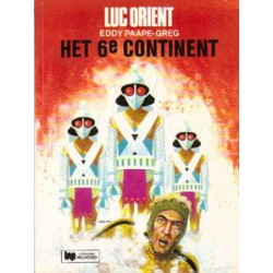 Luc Orient 10<br>Het 6e Continent<br>herdruk Helmond