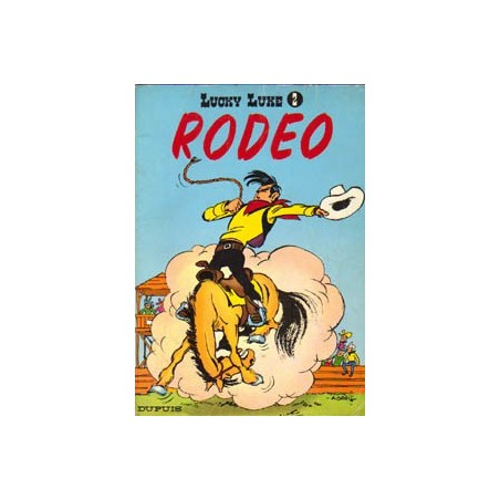 Lucky Luke 02 - Rodeo herdruk