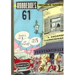 Robbedoes bundel 061 HC 999-1008 1957