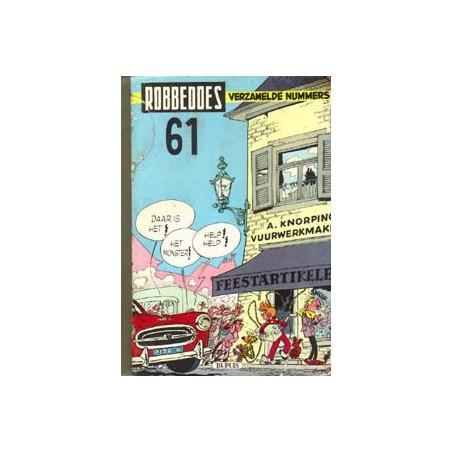 Robbedoes<br>bundel 061 HC<br>999-1008<br>1957