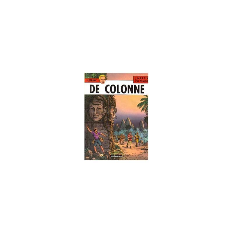 Lefranc 14 - De colonne 1e druk 2001