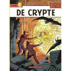 Lefranc<br>09 - De crypte<br>1e druk 1984