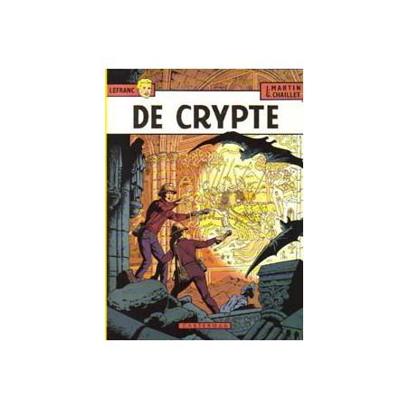 Lefranc 09 De crypte 1e druk 1984