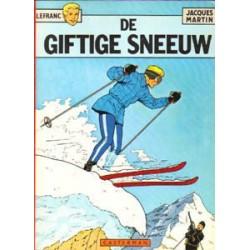 Lefranc 03 - Giftige sneeuw 1e druk 1975 Oorspr. omslag