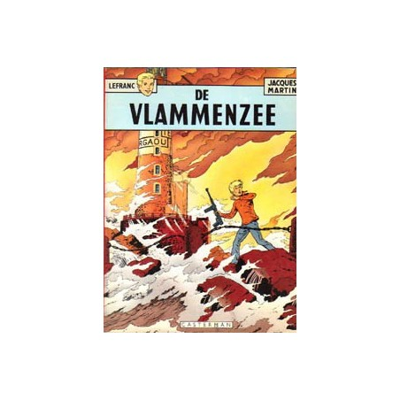 Lefranc<br>02 - De vlammenzee<br>1e druk SC 1975