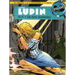 Detective Strips 12 Arsene Lupin 813 Drie misdaden