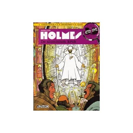 Detective Strips 24 Sherlock Holmes Aluminium kruk 1e druk 1993