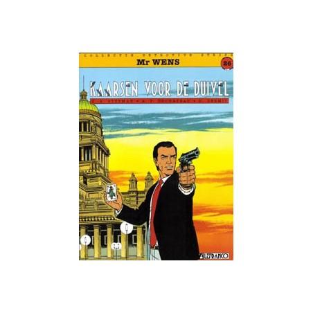 Detective Strips 26 Mr. Wens Kaarsen voor de duivel 1e druk 1994