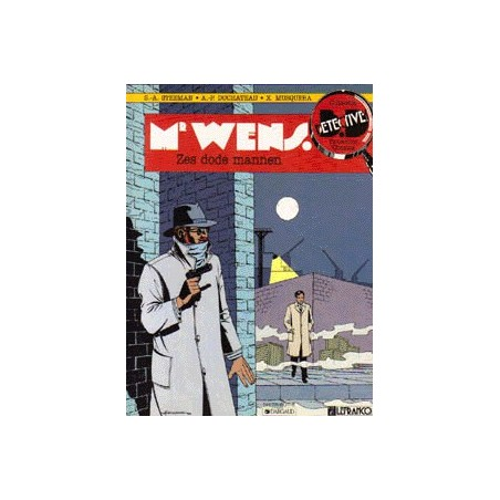Detective Strips Mr. Wens set 4 delen 1e drukken
