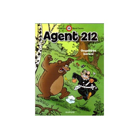 Agent 212 15 Ongelikte beren herdruk