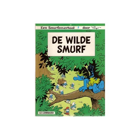 Smurfen 20 De wilde smurf 1e druk 1998