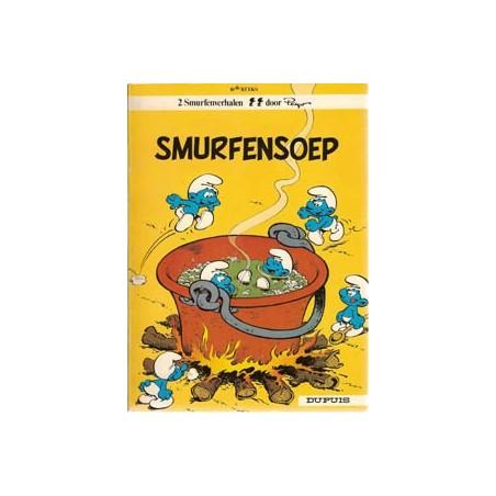 Smurfen 10 Smurfensoep 1e druk 1976