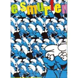 Smurfe  verzamelalbum set Deel 1 & 2 1e drukken 1982-19
