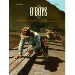O'Boys 02<br>Twee vrolijke katten op een gloeiend hete trein