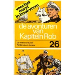 Kapitein Rob pocket 26 Eerste reeks 1972