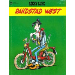 Rocky Luke 01 SC Randstad West 1e druk 1988