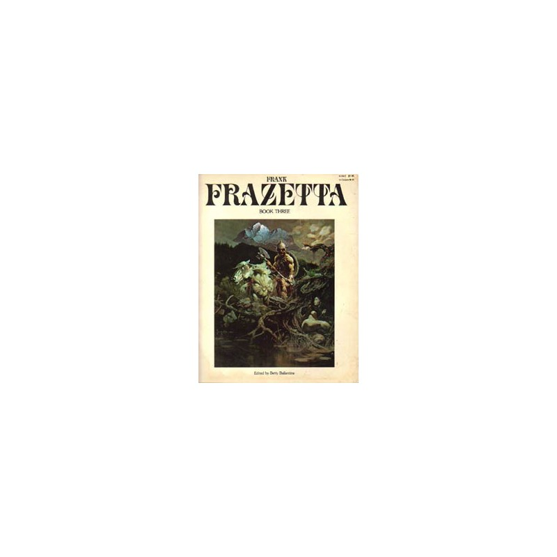 Frank Frazetta Artbook three First printing 1978