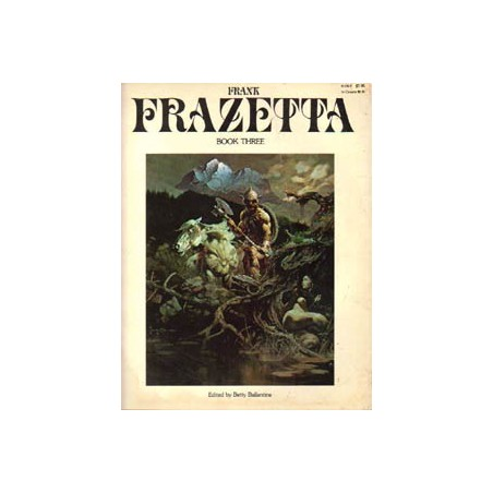 Frank Frazetta Artbook three<br>First printing 1978