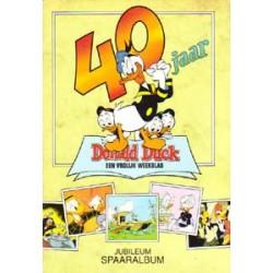 Donald Duck jubileum spaaralbum<br>40 jaar<br>compleet<br>1992