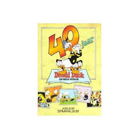 Donald Duck jubileum spaaralbum 40 jaar compleet 1992
