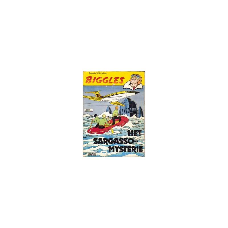 Biggles SE01 Het Sargasso mysterie 1e druk 1977