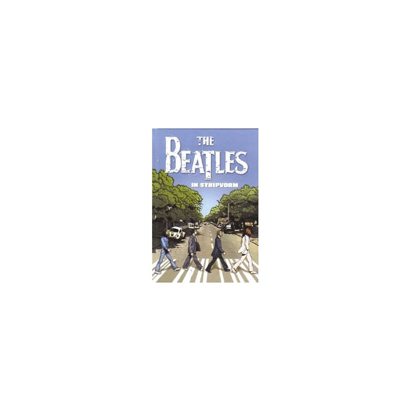Beatles  strips HC The Beatles in stripvorm