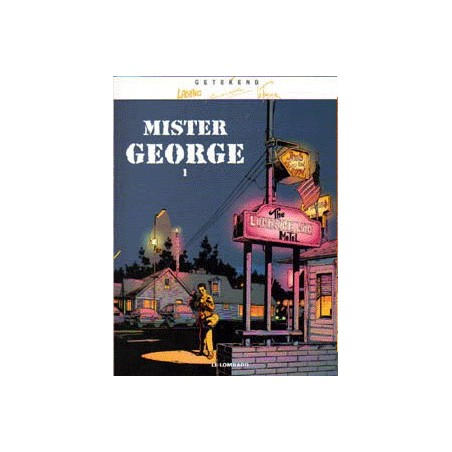 Getekend set Mister George deel 1 & 2 SC 1e drukken 2003-2004