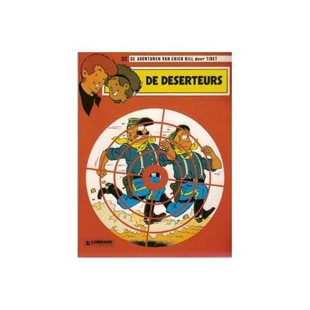 Chick Bill 51 - De deserteurs herdruk
