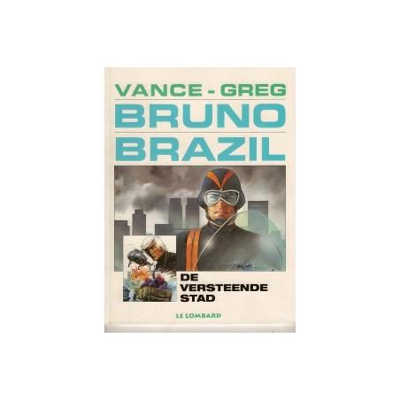 Bruno Brazil 04 De versteende stad herdruk nieuwe omslag