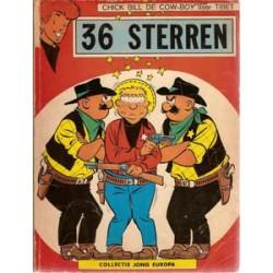 Chick Bill 36 Sterren Jong Europa 50 1e druk 1967