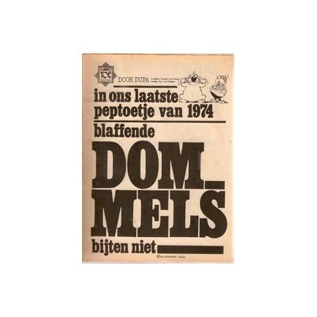 Dommel<br>Peptoe Blaffende Dommels bijten niet<br>1974