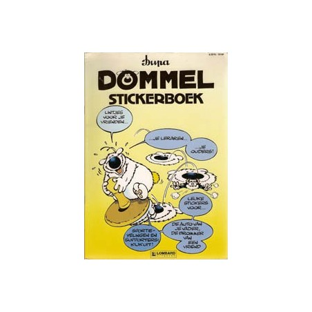 Dommel Stickerboek 1991