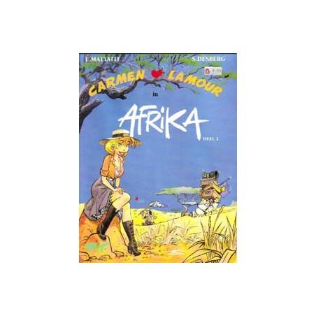 Carmen Lamour 02<br>In Afrika deel 2<br>1e druk 1995