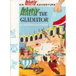 Asterix Taal Engels - The Gladiator HC herdruk 1972