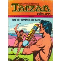 Tarzan album 10 Naar het binnenste der aarde 1e druk 1973