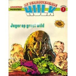 Hulk album 07<br>Jager op groot wild<br>1e druk 1980