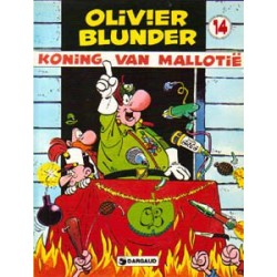 Olivier Blunder 14<br>Koning van Mallotie<br>herdruk