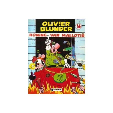 Olivier Blunder 14 Koning van Mallotie herdruk