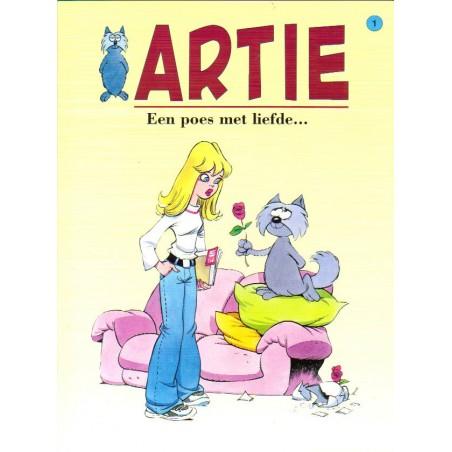 Artie 01 Een poes met liefde 1e druk 2006
