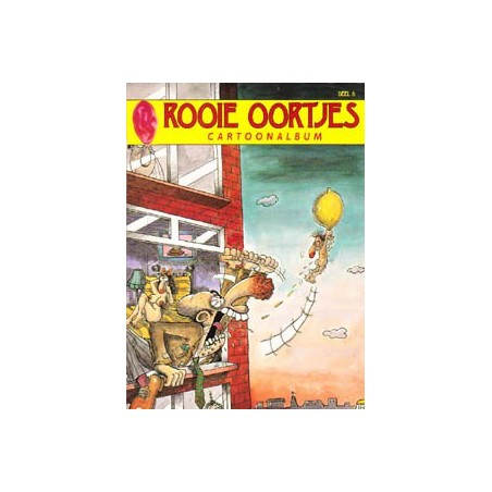 Rooie Oortjes Cartoonalbum 08 1e druk 1997