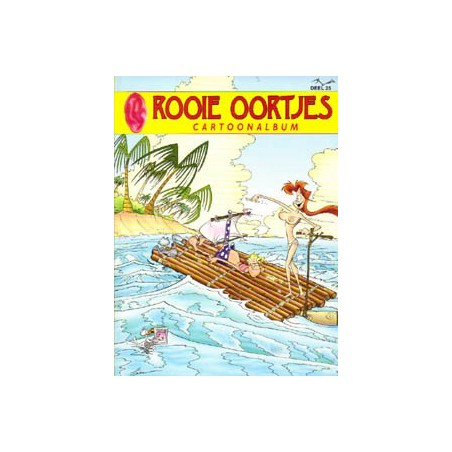 Rooie Oortjes Cartoonalbum 25 1e druk 2002
