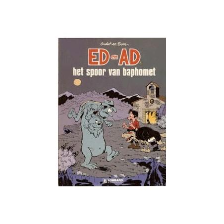 Ed & Ad setje Deel 1 t/m 4 1e drukken 1987-1989