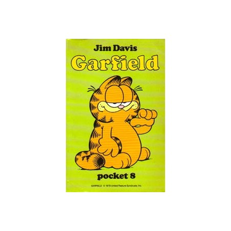 Garfield pocket 08 1e druk 1987