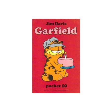 Garfield pocket 10 1e druk 1987