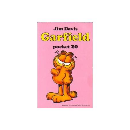 Garfield pocket 20 1e druk 1992