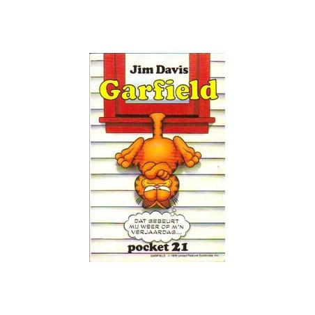 Garfield pocket 21 1e druk 1993
