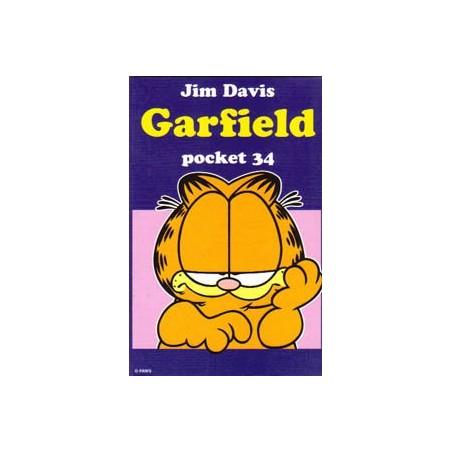 Garfield pocket 34 1e druk 1999